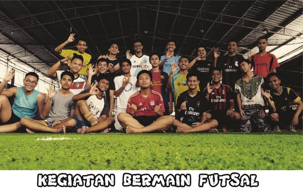 Foto Kegiatan Futsal Siswa Success Camp UI 2016